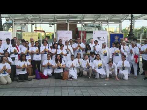 IDY 2017- curtain raiser event at London Eye