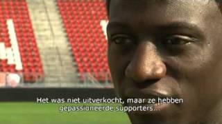 Jacob Mulenga op Celtic Park