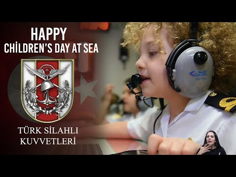 Happy Children's Day at Sea