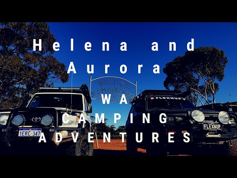 Outback Camping Series 2 Ep 1 - Helena and Aurora Ranges Camping 4x4 Off Road Cooking Overlanding