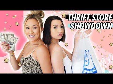 THRIFT STORE SHOWDOWN: Best Friend vs. Best Friend (Mia Sayoko)