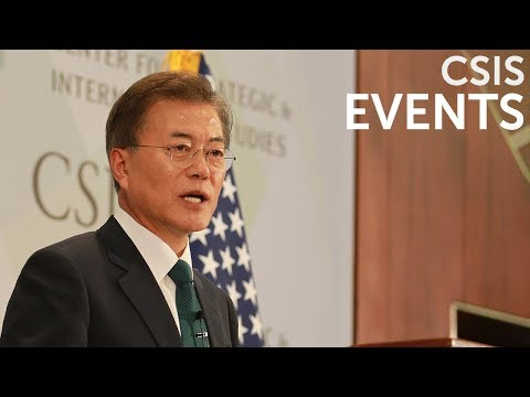 Global Leaders Forum: His Excellency Moon Jae-in, President of the Republic of Korea