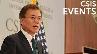 Global Leaders Forum: His Excellency Moon Jae-in, President of the Republic of Korea