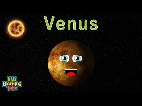 Planet Song for Kids/Solar System Song for Children/Venus Song for Kids
