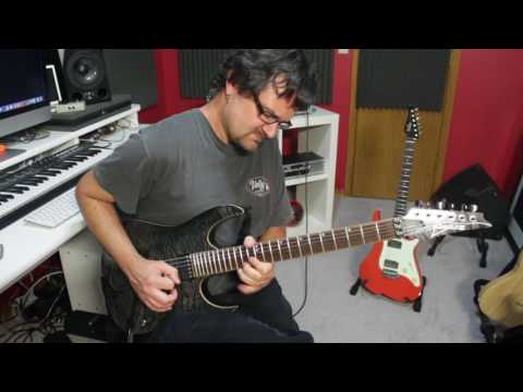 Instrumental Guitar Improvisation - Ibanez RG Premium Through Fractal Audio Axe FX II