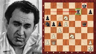 Tigran Petrosian's Immortal Chess Game vs Spassky – Hijacking diagonals! Queen Sac! – Brilliancy!