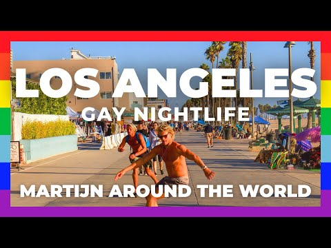 GAY LOS ANGELES Travel // Exploring Gay NIGHTLIFE Los Angeles, California, West Hollywood.
