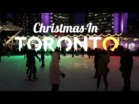 WHY YOU SHOULD BE IN TORONTO THIS CHRISTMAS | Top 5 best xmas spots!