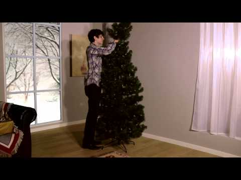 Snowtime Pre Lit LED Pop Up Pine Tree