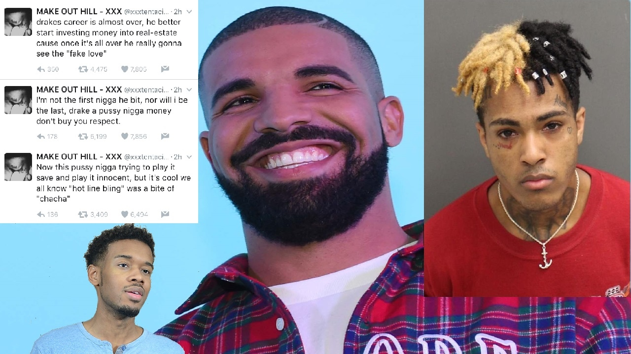 Every Drake Song Made pertaining to xxxtentacion disses drake on twitter! - youtube