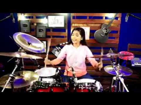 DJ tik tok emang lagi syantik!!!!! Cover drum cantik keren boskuh!!!