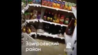 Собака залезла на прилавок в магазине.(, 2015-02-24T14:12:32.000Z)