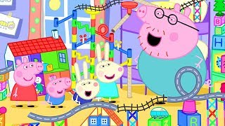 Peppa Pig Official Channel | Peppa Pig's Biggest Marble Run Game