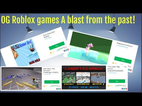 An Old One Piece Game? OG Roblox games from the past