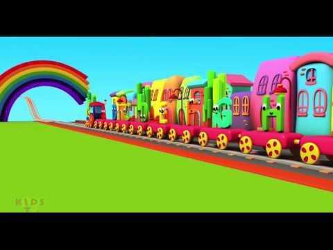 Film Animasi Anak - BOB Kereta Api Bahasa Indonesia   Belajar Tentang Alpabhet