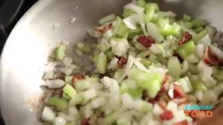 Bacon Cornbread Stuffing   Thanksgiving Recipes   Everyday Food With Sarah Carey