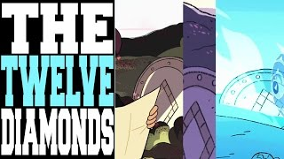 THE 12 MISSING DIAMONDS?! HIDDEN SYMBOL EVERYWHERE! [Steven Universe Theory / Discussion]