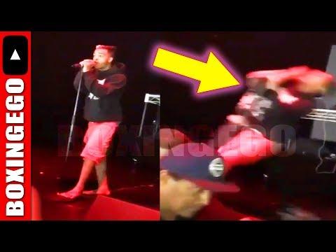 "Rapper XXXTentacion KNOCKED OUT COLD while singing ""SETUP"" @ Concert (Drake Nemesis) Drake laughing?"