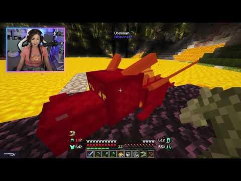 Pokimane's Dragon Doesn't Love Her    OTV Minecraft SMP