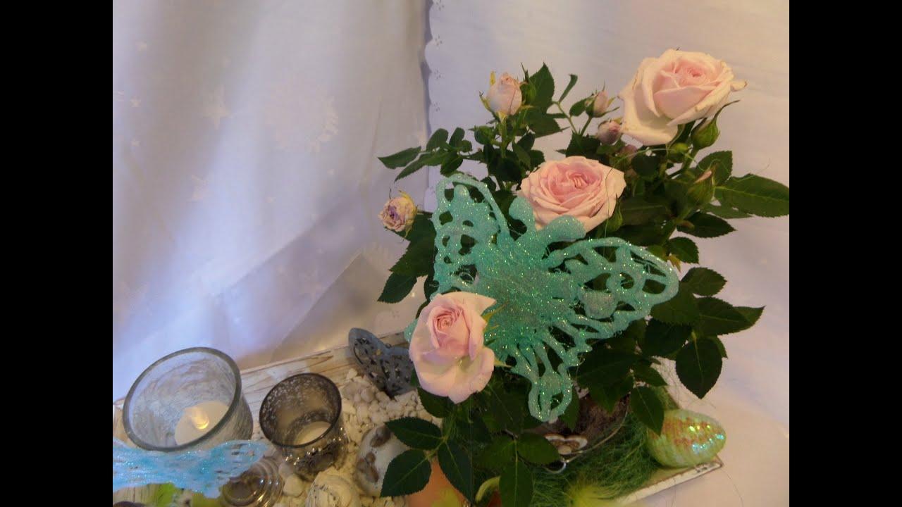 Diy Bastel Tipp Deko Schmetterling Basteln Geschenk