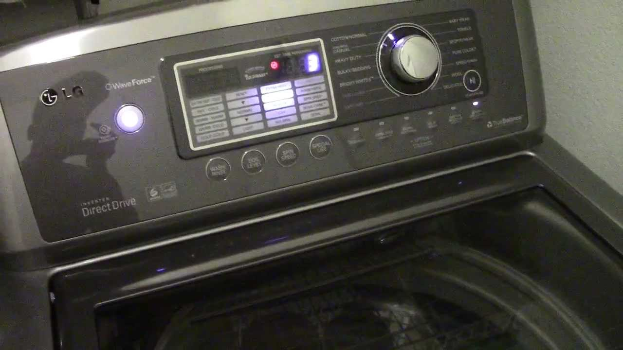 Insane 1100 Rpm Lg Waveforce Spin Cycle And Special Melody