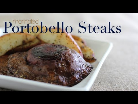 Marinated Portobello Steaks