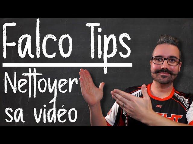 Tips FalcoX | Vidéo pourrie ? Nettoyez votre flux vidéo FPV !