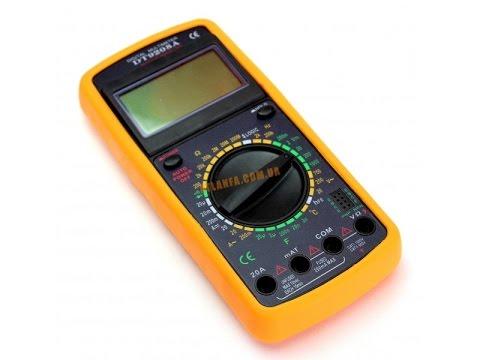 мультиметр dt 9208 инструкция по применению