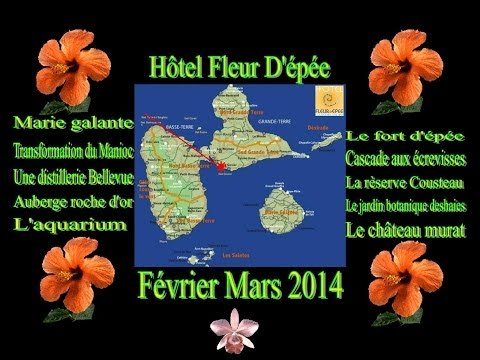 la guadeloupe Le Gosier 2014