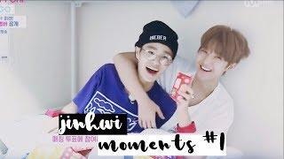 JinHwi Moments #1♡ || Daehwi loves hugs