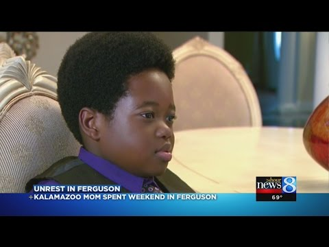 Son, 8, taught how to interact with police