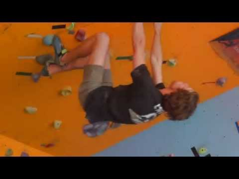 Adelaide Bouldering Competition DYNO at - Southern Boulder Rock Climbing / Bouldering Gym