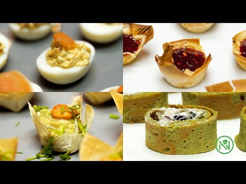 4 WAYS NEW YEARS EVE FINGER FOOD