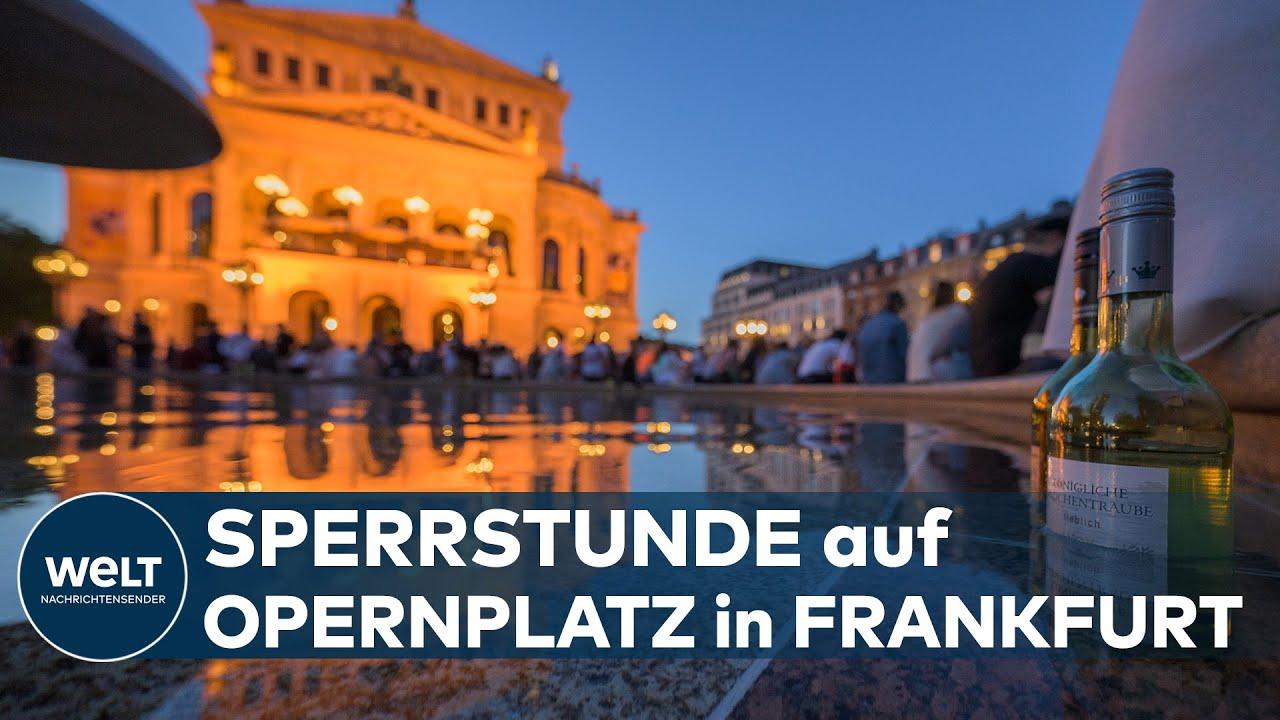 Randale Frankfurt