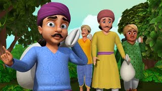 The Learned Fools Folk Tale | Moral Stories for Children in English | Infobells