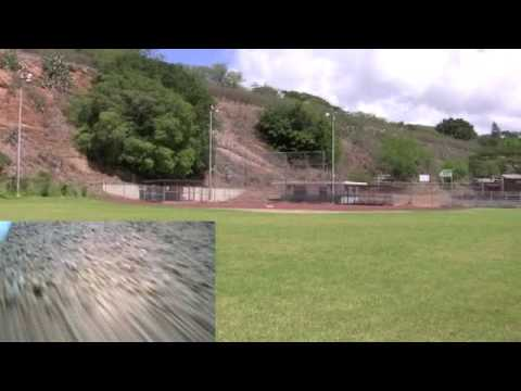 RC Plane flying over Honolulu with Picture in Picture