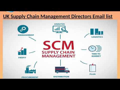 UK Supply Chain Management Directors Email list
