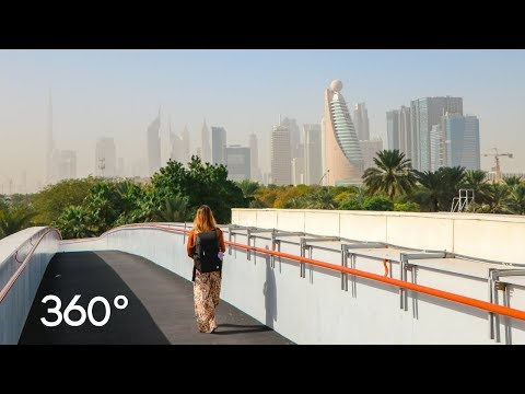 EXPLORING DUBAI in 360° | Virtual Reality 4K