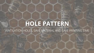 LutraCAD - Tutorial - Hole Pattern Guide - Add ventilation and use less material for insoles