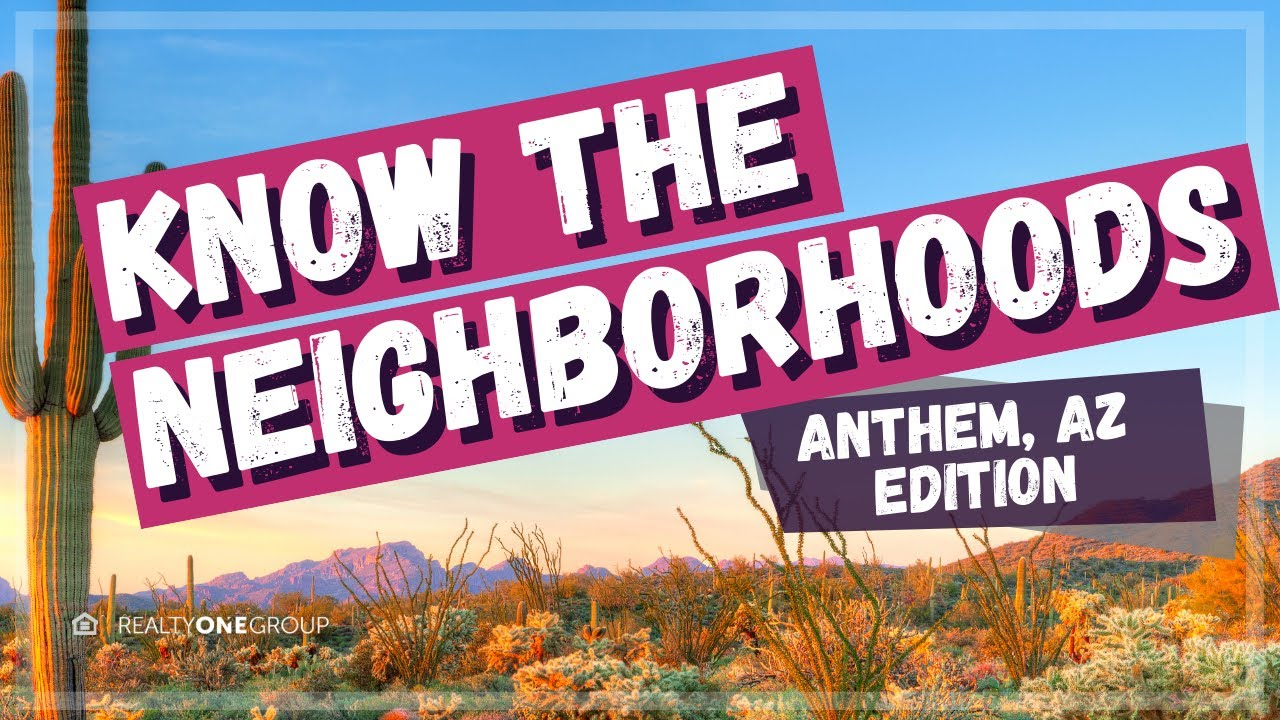 Anthem Az Map Get To Know The Different Areas Youtube