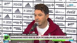 El llamado de Maradona a Gallardo