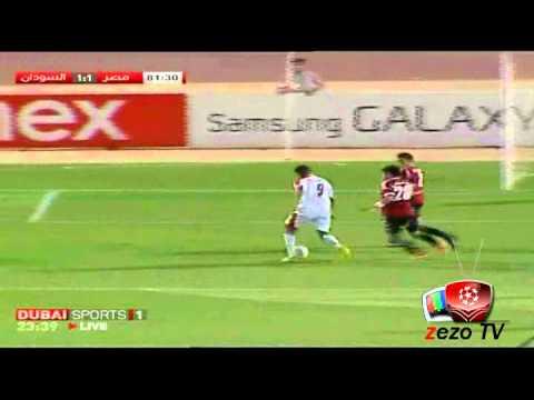 Eygpt 1 - 1 Sudan NJ Mlaeb zezo tv