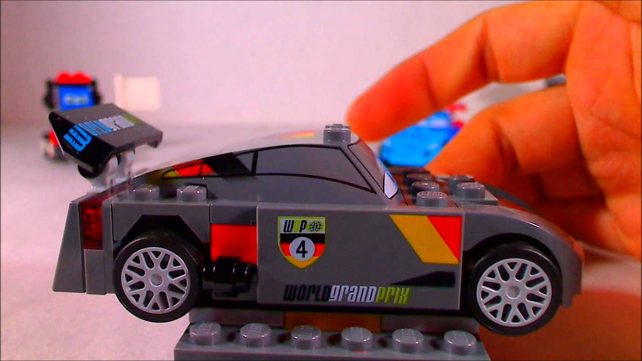 Lego Cars Ultimate Race Set Review Youtube