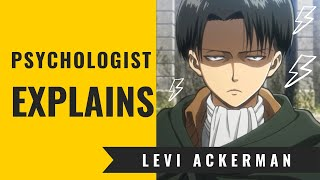 Levi Ackermann - Psychological Character Analysis (SPOiLERS)| Psychologist watching (SPOiLERS) thumbnail