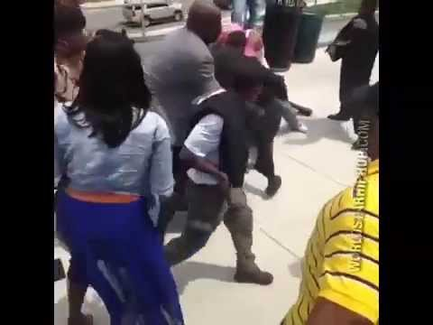 Brawl Breaks Out At Randallstown High School Graduation in Baltimore, MD