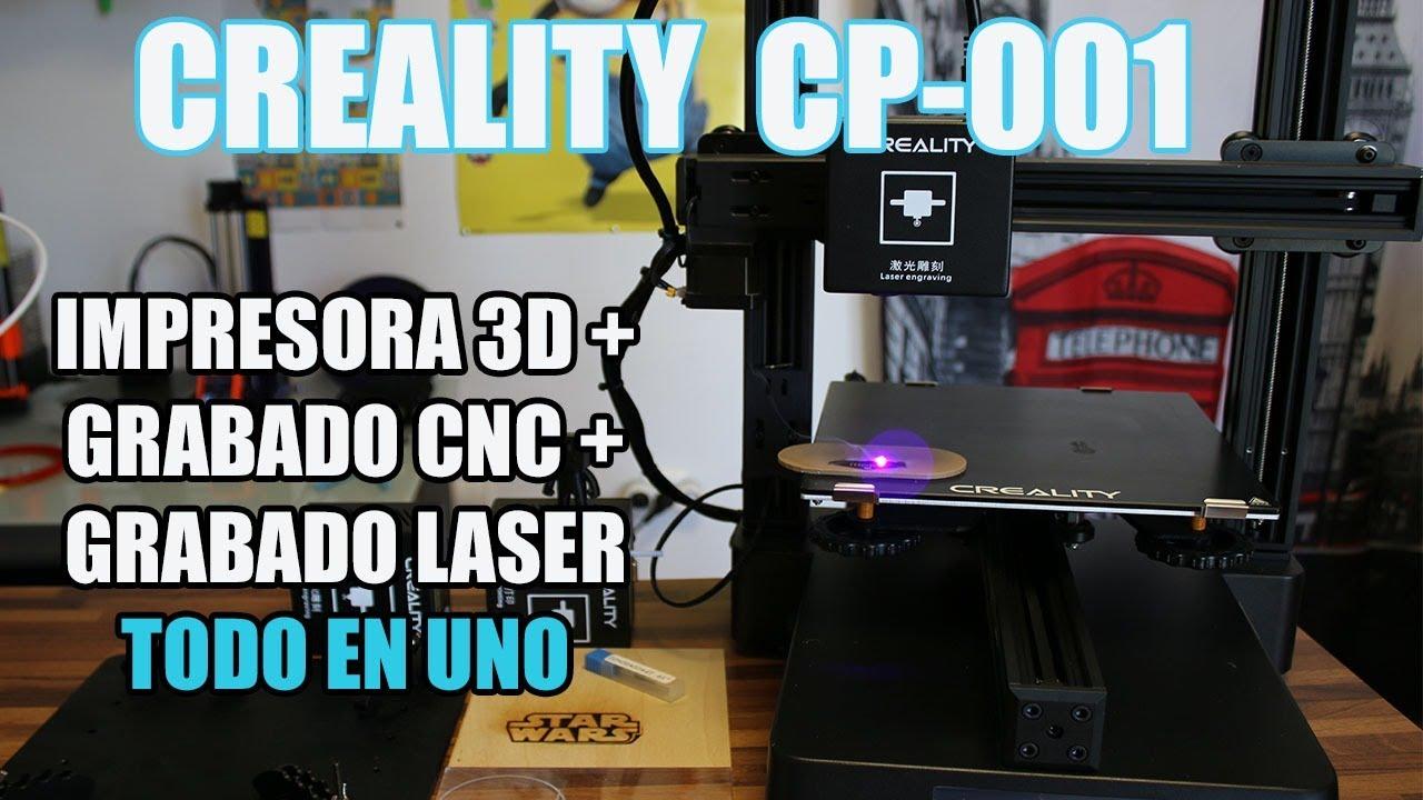 TALLER MAKER TODO EN UNO: CREALITY CP-01