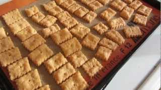 Gluten Free Cheese Crackers (like Cheez-its)