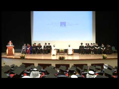 The British University in Dubai Graduation 2014