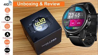 Zeblaze Thor 4 pro Smartwatch | 4G LTE | 5MP Camera | Sim card | Unboxing and Review