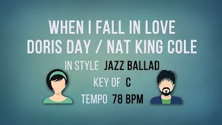 When I Fall In Love - Karaoke Backing Track